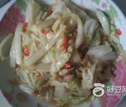 剁椒大白菜