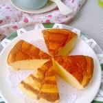 拉花酸奶酪蛋糕