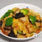 杏鲍菇烩肉片