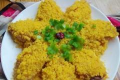 小米蒸鸡翅