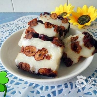 糯米粉小枣切糕