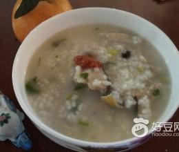 南姜鳐鱼粥