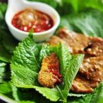 苏子叶烤牛肉