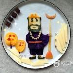 沙僧水果餐盘画