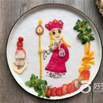 唐僧水果餐盘画