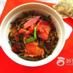 湖南腊肉炒干豆角