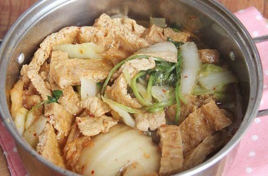 白菜豆腐钵