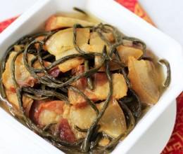 干豇豆炖腊肉