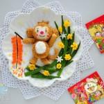 金猴报春餐盘