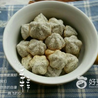 黑芝麻酸奶溶豆