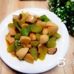 蚝油莴笋杏鲍菇