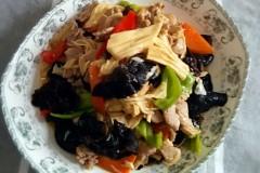 蚝油肉片腐竹