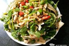 腐竹拌鸡丝