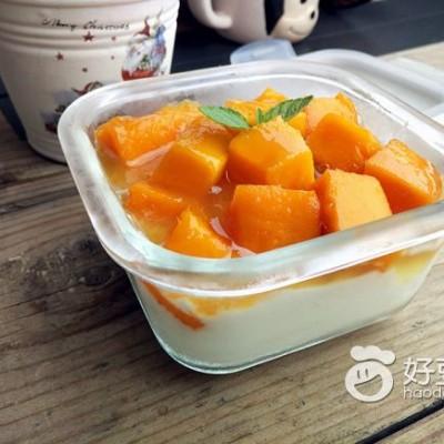 芒果酸奶#新鲜从这里