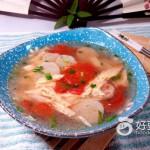 番茄腐竹汤