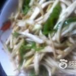 青椒茭白丝
