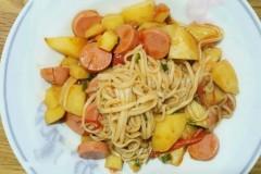 土豆西红柿面