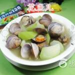 长瓜圆蛤汤
