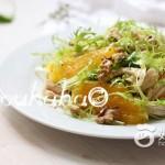 酸甜橙肉沙拉#新鲜从