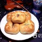 炼奶豆沙面包