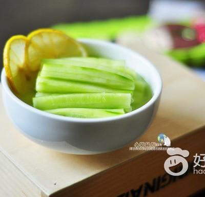 柠檬蜂蜜黄瓜#新鲜从