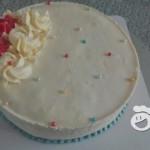 奶油霜裱花蛋糕