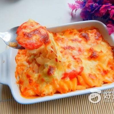 番茄土豆焗意面#新鲜