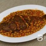 茄汁黄豆焖鲽鱼