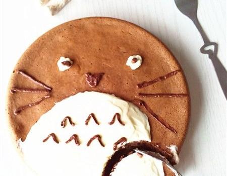 龙猫戚风蛋糕#新鲜从