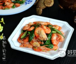 黄瓜皮炒鲥虾#新鲜从
