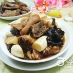 黑木耳茭白煮猪蹄