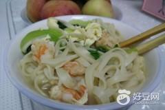 油菜青虾面
