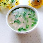 猪肝瘦肉青菜粥#新鲜