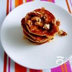 核桃蜂蜜松饼#新鲜从