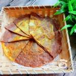 黑麦面粉饭菜鸡蛋煎饼