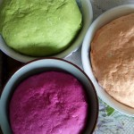 彩色饺子皮