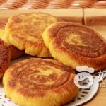 香糯玉米饼