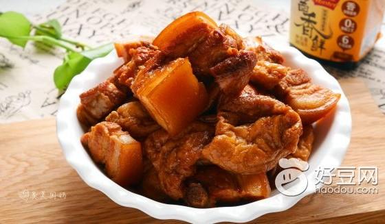 酱香五花肉烧素鸡