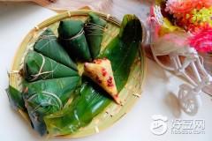 小米红豆粽子