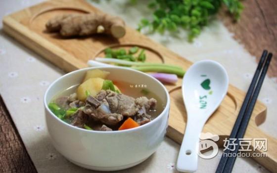 竹蔗馬蹄胡蘿卜骨頭湯