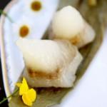 绿豆沙水晶粽