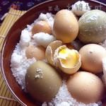 盐焗土鸡蛋