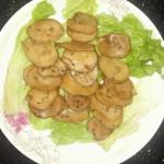 干煸杏鲍菇~烧烤味