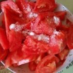 西红柿拌白糖