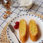 蒜香法棍面包#新鮮從