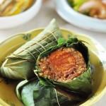 秘制蛋黄肉粽
