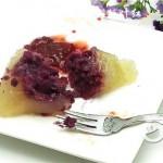 紫薯水晶粽子