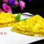 奶香玉米烙#妙搭新食