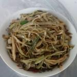 豆角丝炒粉条