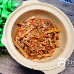 砂锅肉末茄子煲